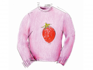何年も一番よく着ていた大事ないちごのセーターは……/上野陽子さん
