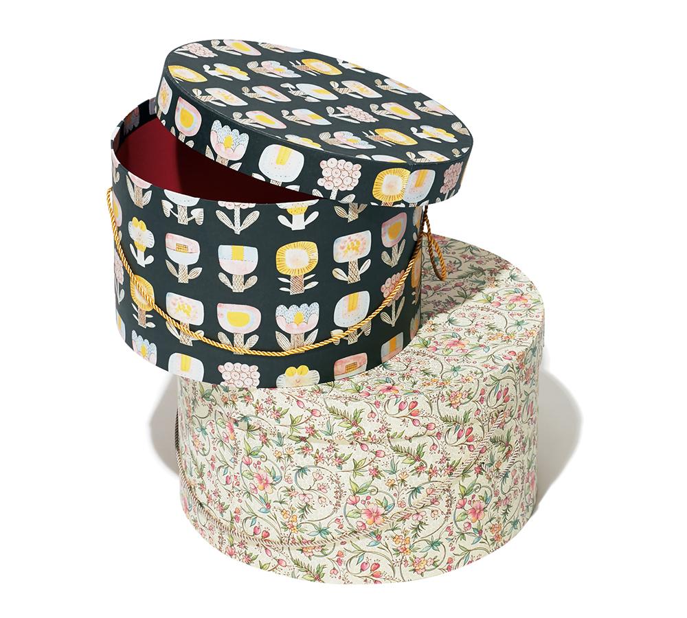 ⑨BOX&NEEDLE/ HAT BOX M/L(編集 N)