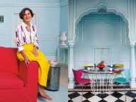 マリーエレーヌ・ドゥ・タイヤックが愛する家と街。夢見るジャイプール