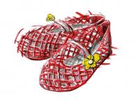 この世にたったひとつ、お気に入りの赤いサンダル/八木由香さん