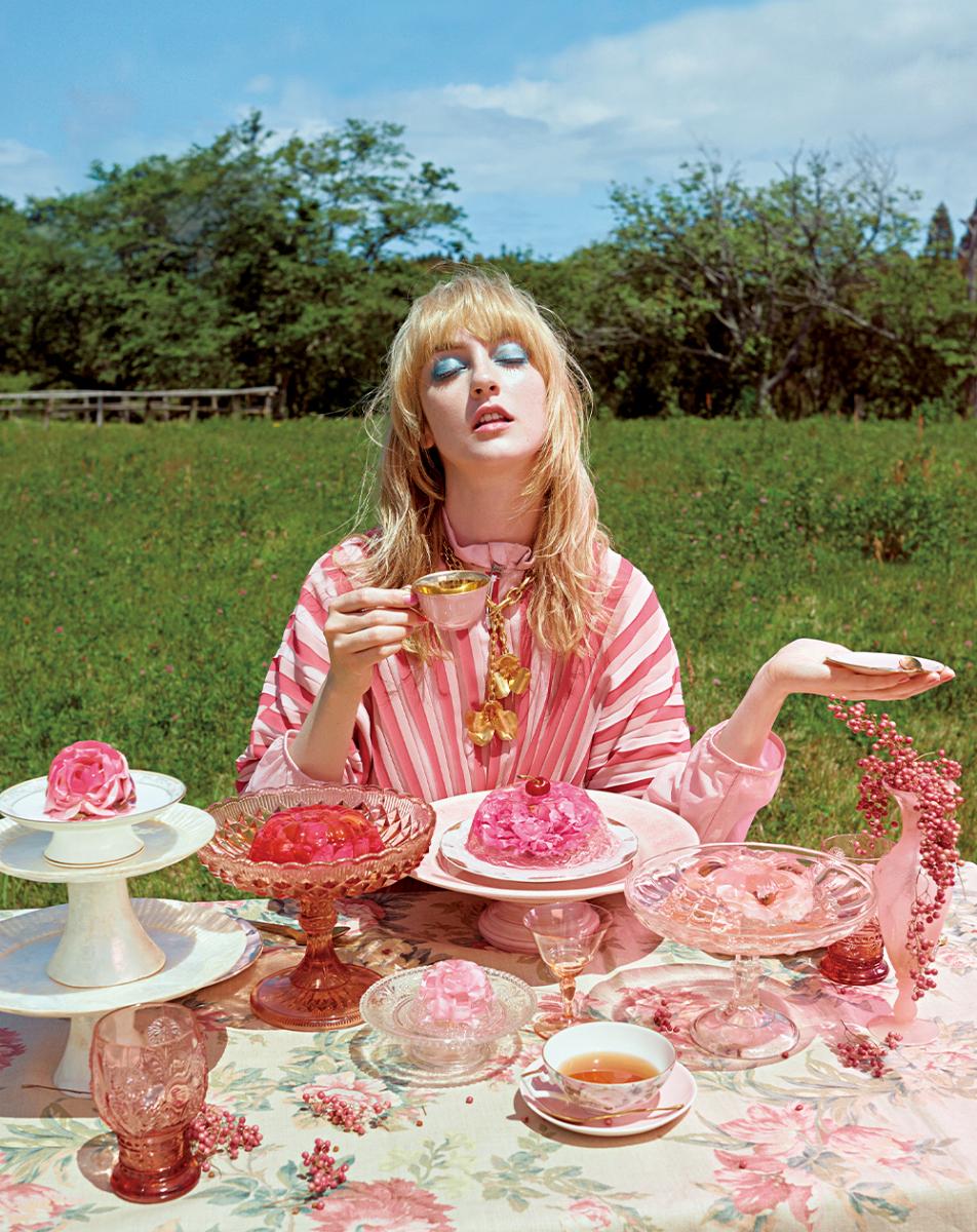 ドレスコードはピンク。夢見るティーパーティ