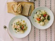 冬野菜のサーモンスープ - 今月のスープ | vol. 12 最終回