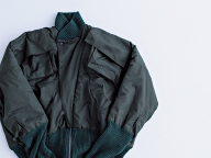 あの頃は着られなかったボンバージャケット/長谷川眞美子さん