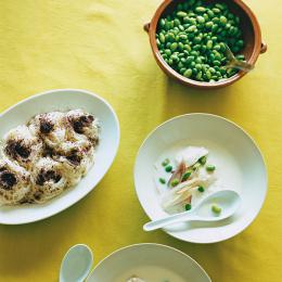 枝豆と豆乳のスープ - 今月のスープ | vol. 07