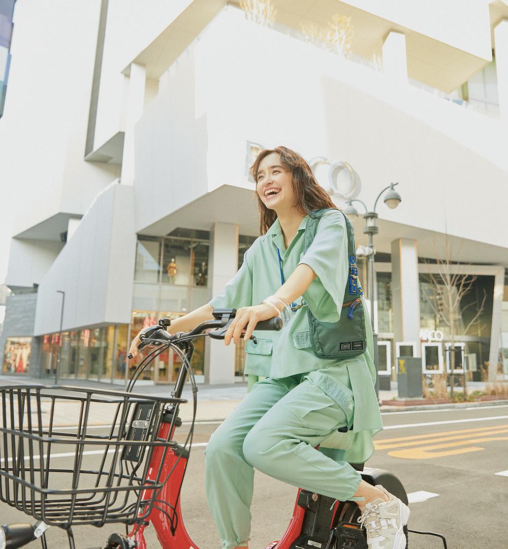 最寄りのポートで自転車をゲット! 気ままなサイクリングは渋谷パルコから