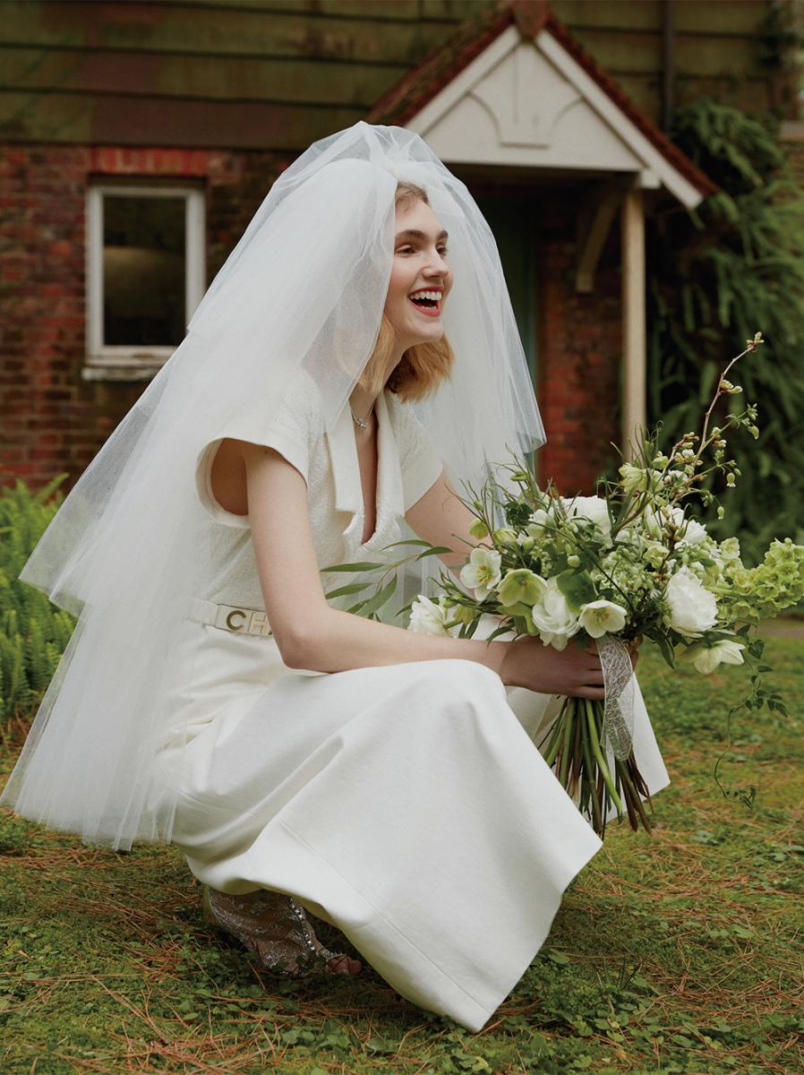 モダンな花嫁の「Yes,I Do」