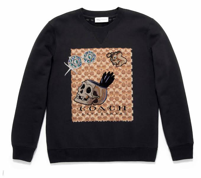 シグネチャー スウェットシャツ ウィズ パッチ(メンズ)¥27,000 © Disney
