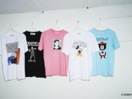 ビームスによるフジロックオフィシャルTシャツ、今年はとんだ林蘭など5アーティストが参加!