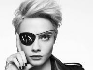 カーラ・デルヴィーニュがA|Xアルマーニ エクスチェンジの2017年秋冬キャンペーンモデルに!