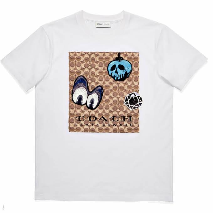 シグネチャー パッチ Tシャツ ¥16,000 © Disney