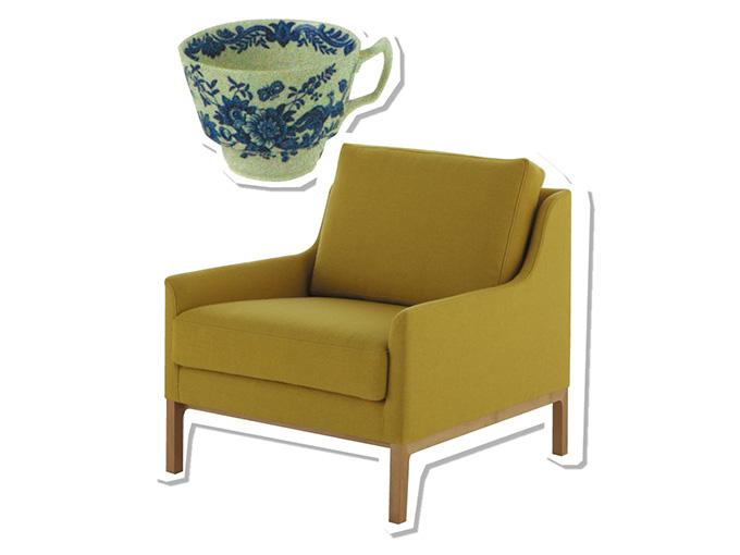 HARUの肘掛椅子