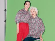 左:花梨さん(モデル)&右:櫻さん(「ヴィア・ミュージアム」オーナー)