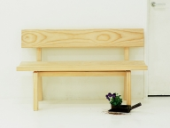 マルニ木工のBotan ベンチ122