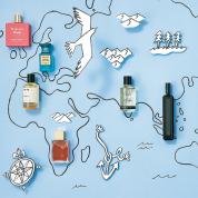 香りで描く世界地図