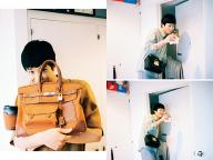 キャンバスバッグとスモールバッグ