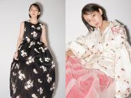 【4 MONCLER SIMONE ROCHA】吉岡里帆がまとう新しいボリュームと装飾