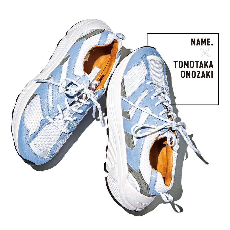 ネーム × トモタカオノザキ