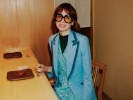 セルリアンブルーが印象的なグッチのジャケット