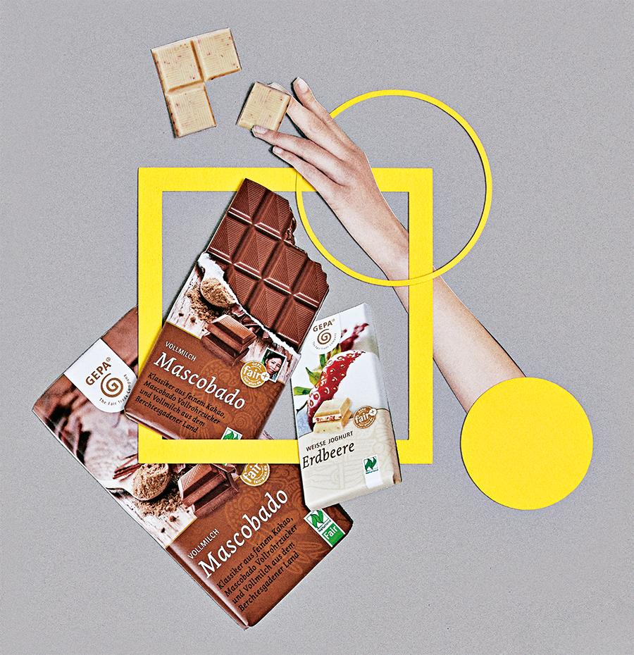 Fair Trade 公正な取引で、チョコレートの未来を支える