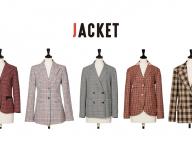 チェックジャケットは豊富なイメージから選ぶ