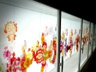 """今話題の""""走る美術館""""で撮影を行いました #SPUR9月号"""