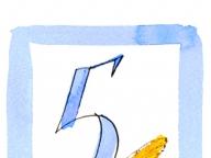 誕生数「5」