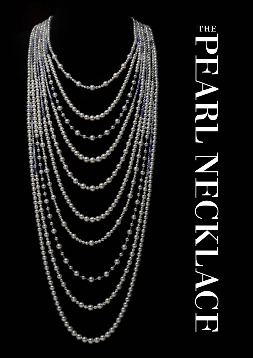 『THE PEARL NECKLACE』カバー Photo courtesy of MIKIMOTO