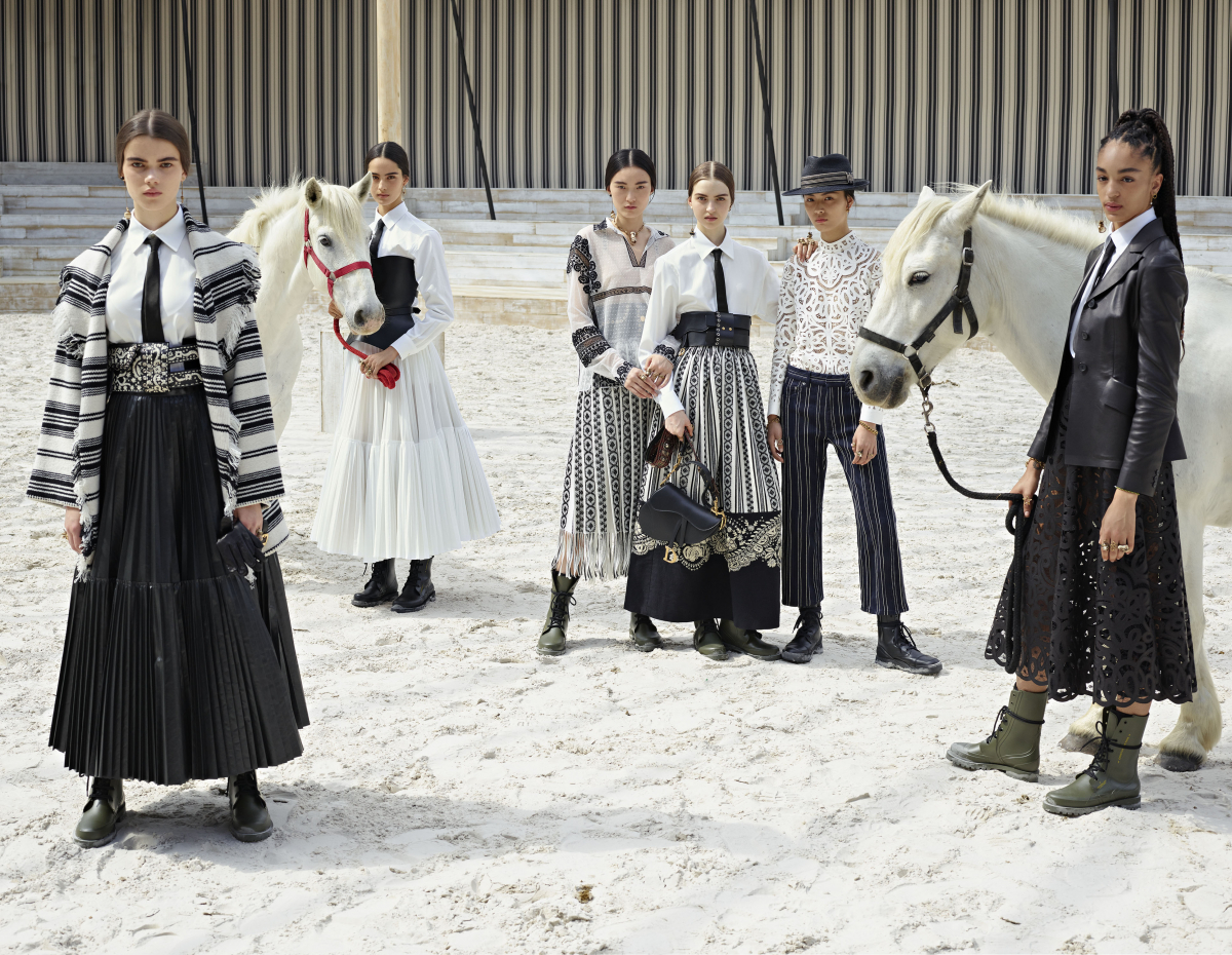 ディオール2019クルーズ コレクションに身を包んだモデルたち。 © Estelle Hanania for Dior