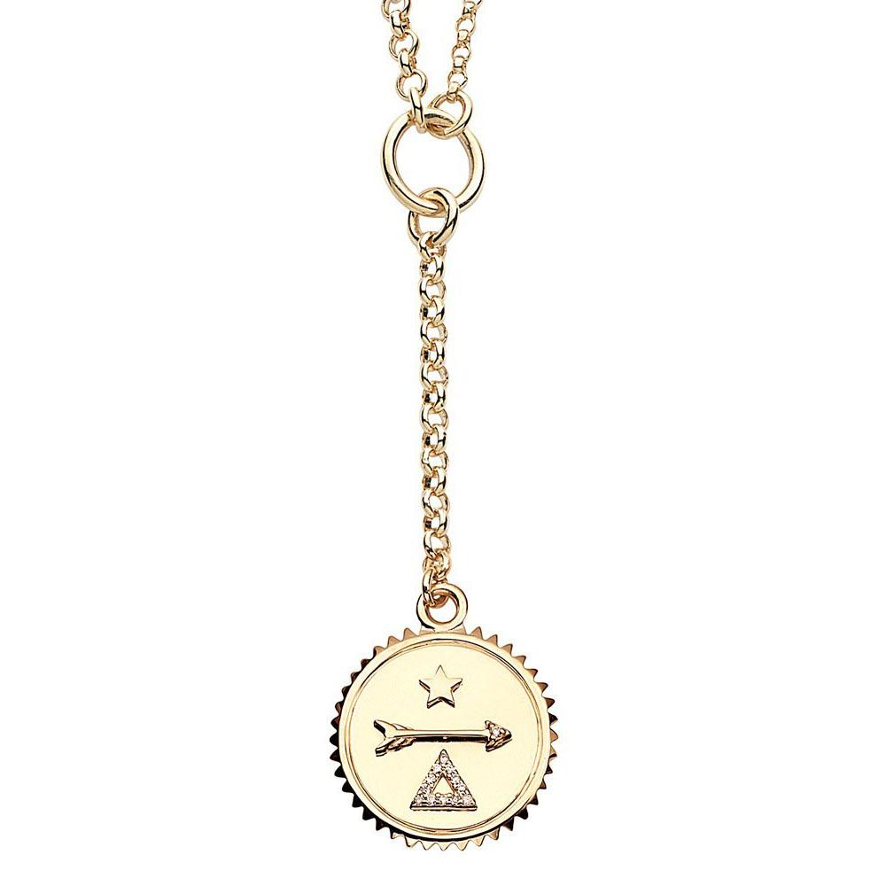 ネックレス(YG×ダイヤモンド)¥373,000/ファウンドレイ