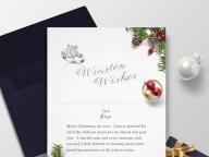 ハリー・ウィンストンが、ホリデー限定スペシャルサイトを開設。自分だけのクリスマスカードで想いを届けて