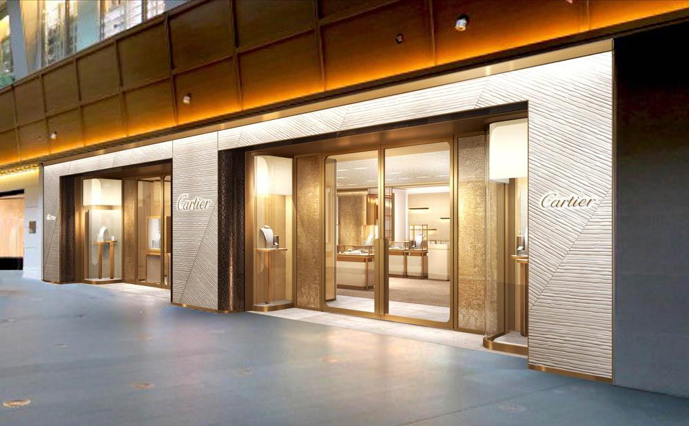 「カルティエ ブティック 六本木ヒルズ店」外観 Photo courtesy of brand
