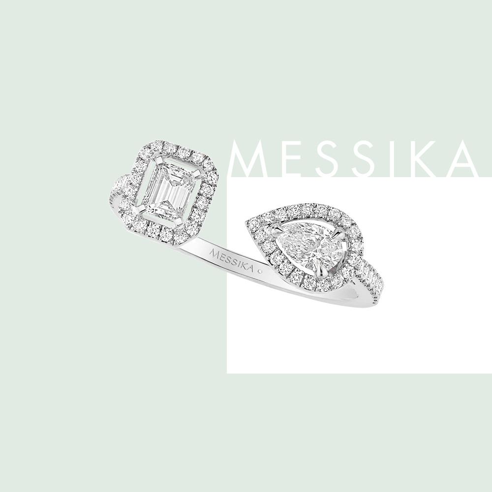 グラマラスなダイヤモンドは、特別な日のスタイリングに取り入れて