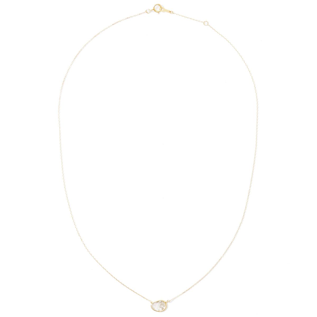 ネックレス〈10KYG、ダイヤモンド〉¥47,300