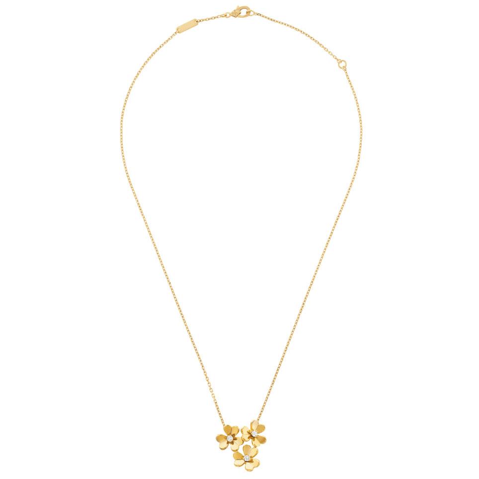 ネックレス〈YG、ダイヤモンド〉¥475,000