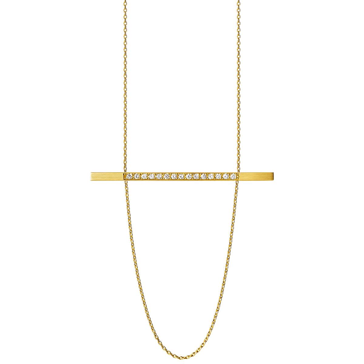 ネックレス〈YG、ダイヤモンド〉¥260,000