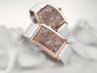 フランク ミュラー最新作、マザーオブパールとダイヤモンドが紡ぎ出す、究極のエレガンス。
