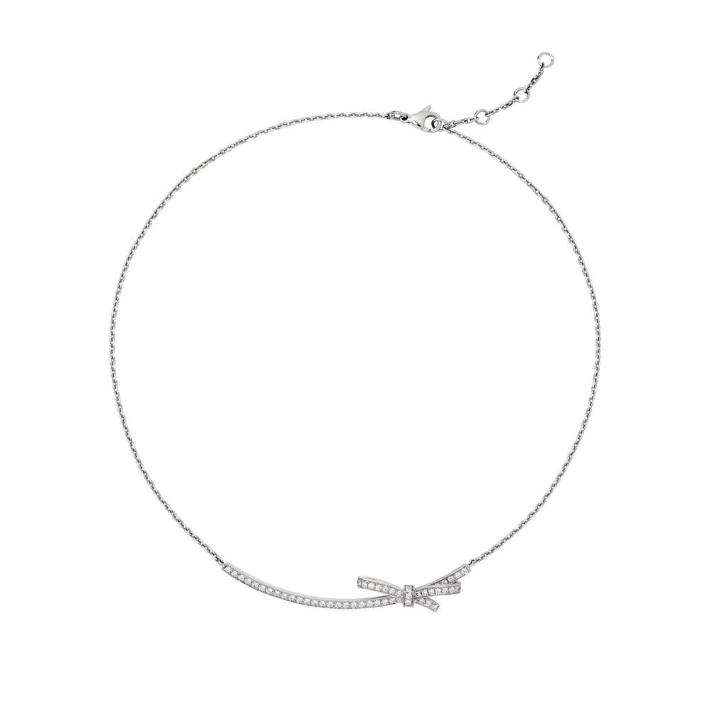 ネックレス(WG×ダイヤ)¥760,000