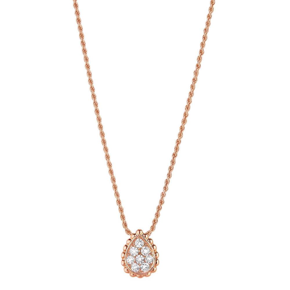 「セルパンボエム」ペンダント(PG×ダイヤモンド)¥284,000