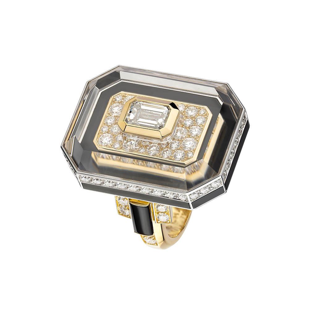 リング〈YG、WG、ダイヤモンド、オニキス〉¥価格