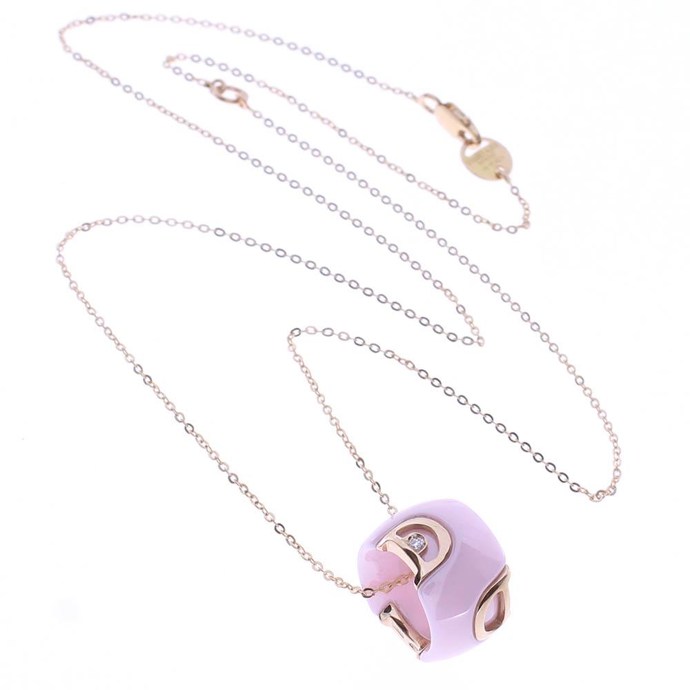 ネックレス(PG×セラミック×ダイヤモンド)¥210,000