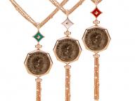 本物のアンティークコインを使ったブルガリの「モネーテ」に新作が登場
