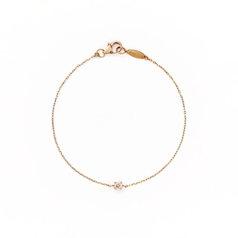 ブレスレット〈18KBG、ブラウンダイヤモンド〉¥55,400