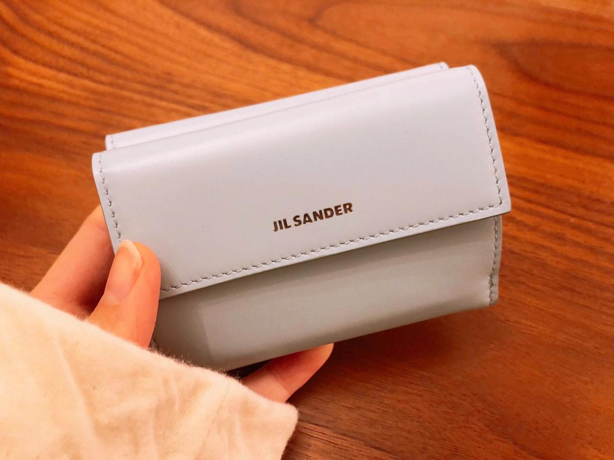 「橋本愛が最近買ったもの」ジルサンダー のミニ財布