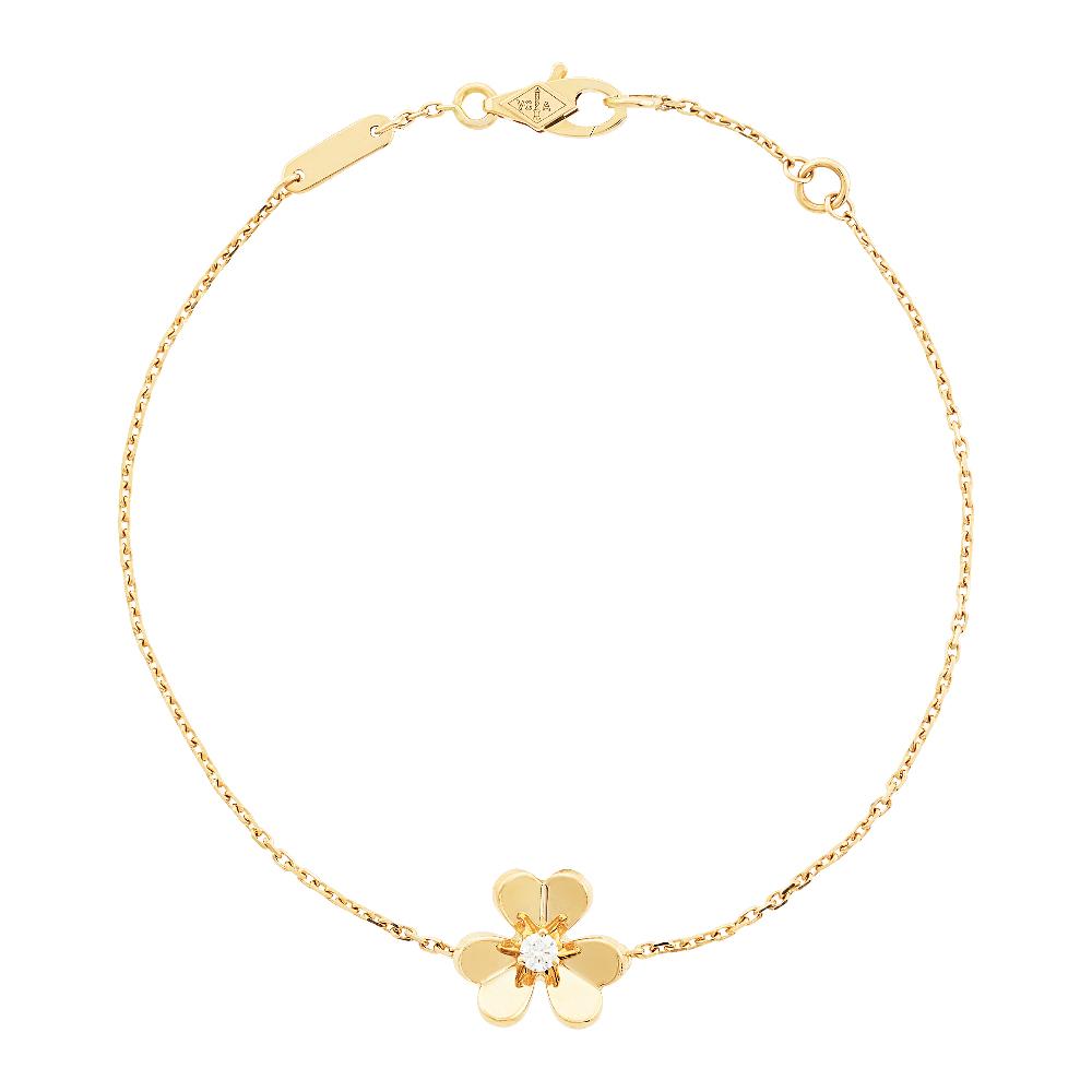 【ヴァン クリーフ&アーペル】太陽の光を浴びてきらめく花の美しさを表現