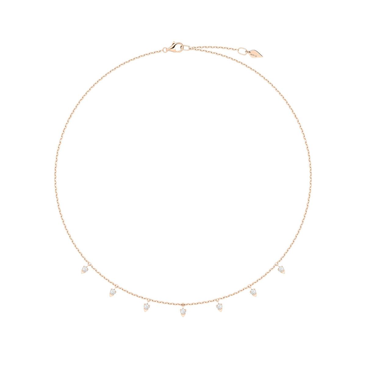 ネックレス〈PG、ダイヤモンド〉¥398,000