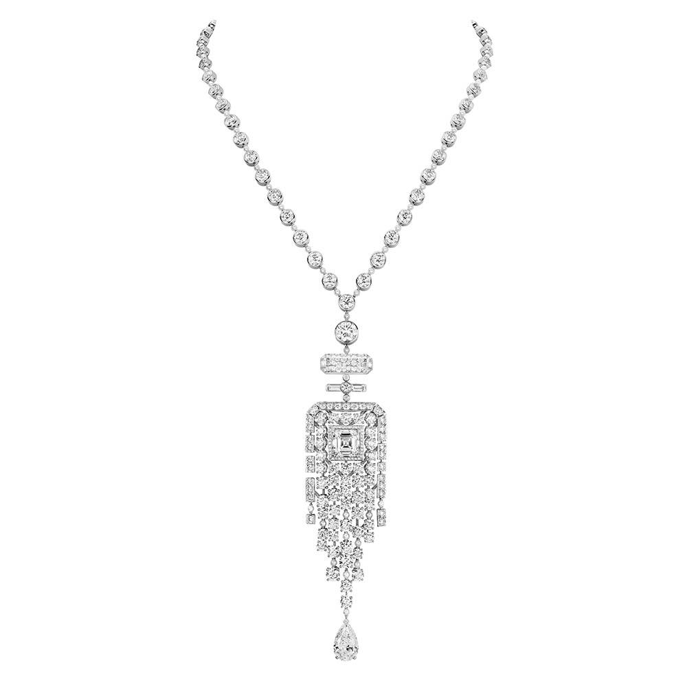 ネックレス〈WG、ダイヤモンド〉¥価格