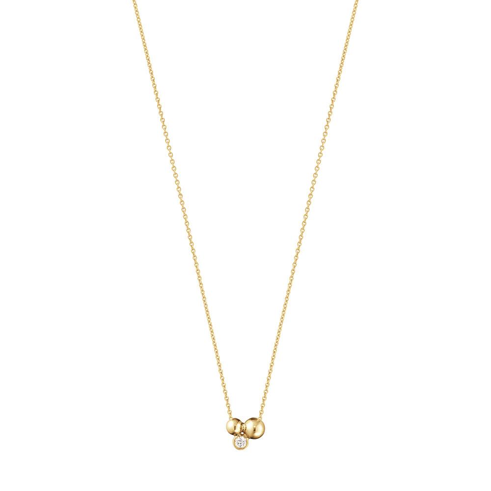 「ムーンライト グレープ」ペンダント〈18KYG、ダイヤモンド〉¥143,000