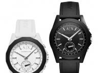 【ARMANI EXCHANGE】一見普通の腕時計ながら、充実した機能を搭載!