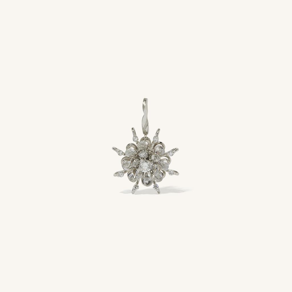 「花火」チャーム〈K18WG、ダイヤモンド、アコヤパール〉¥1,650,000