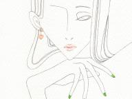 #58 耳元で輝くムービングダイヤモンド【ショパール】